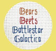 The Classic - Bears, Beets, Battlestar Galactica Kids Tee