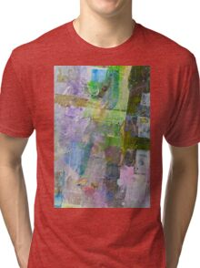 abstract painting background Tri-blend T-Shirt