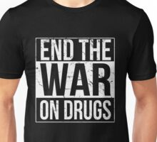 End the War on Drugs Unisex T-Shirt