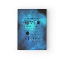 Wibbly Wobbly Timey Wimey Hardcover Journal