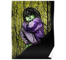 Green Girl Poster