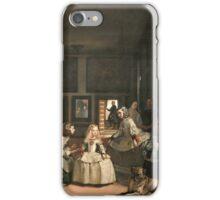 Velazquez - Las Meninas iPhone Case/Skin