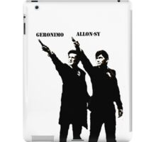 Allon-sy; Geronimo iPad Case/Skin