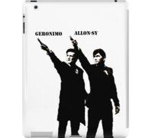 Allon-sy; Geronimo iPad Case/Skin