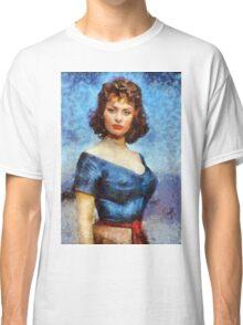Sophia Loren Hollywood Actress Classic T-Shirt