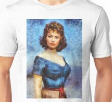 Sophia Loren Hollywood Actress Unisex T-Shirt