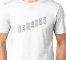 Pastel Collection: New York Unisex T-Shirt