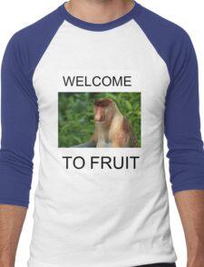 WELCOME TO FRUIT Men's Baseball ¾ T-Shirt