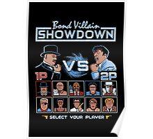 Bond Villain Showdown Poster