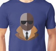 Black Secret Agent Unisex T-Shirt