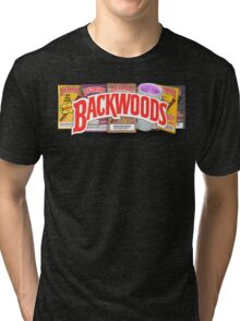 BACKWOODS HIPHOP VINTAGE SHIRT Tri-blend T-Shirt
