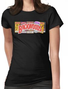 BACKWOODS HIPHOP VINTAGE SHIRT Womens Fitted T-Shirt