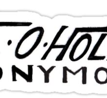 Axe-O-Holics Anonymous Kelly True Temper Stamp Sticker