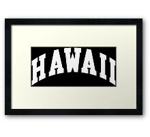 Hawaii Classic Framed Print