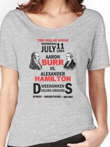 Burr Vs Hamilton Women's Relaxed Fit T-Shirt