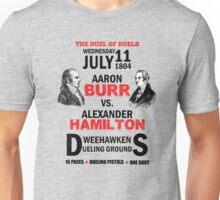 Burr Vs Hamilton Unisex T-Shirt