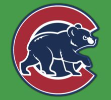 chicago cubs TB @_@@ logo Kids Tee