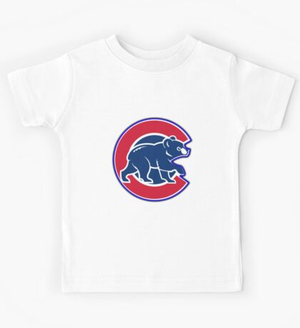 chicago cubs TB @_@@ logo Kids Tee