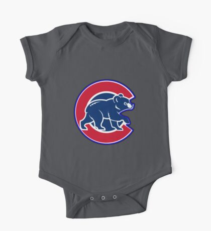 chicago cubs TB @_@@ logo One Piece - Short Sleeve