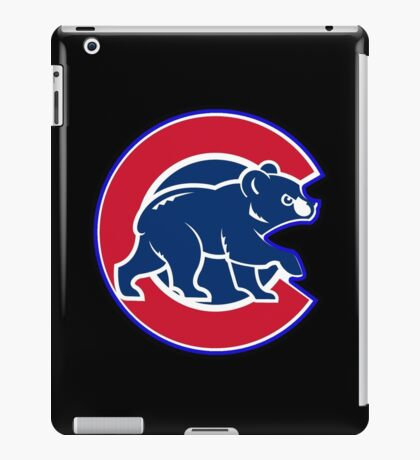 chicago cubs TB @_@@ logo iPad Case/Skin