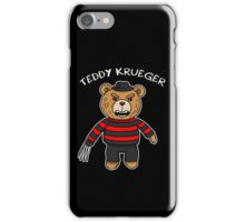 Teddy krueger iPhone Case/Skin