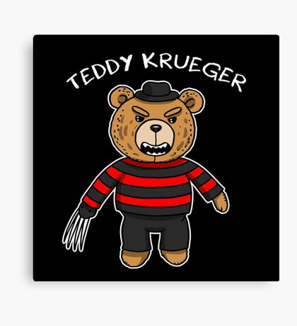 Teddy krueger Canvas Print