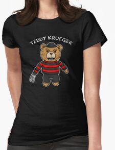 Teddy krueger Womens Fitted T-Shirt