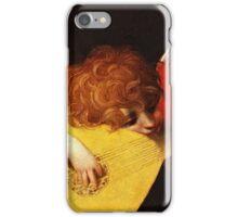 Rosso Fiorentino - Musical Angel 1522  iPhone Case/Skin
