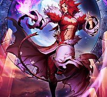 Final Fantasy IX - Trance Kuja by Cantavanda