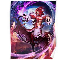 Final Fantasy IX - Trance Kuja Poster