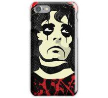 Alice Cooper portrait iPhone Case/Skin