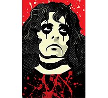 Alice Cooper portrait Photographic Print