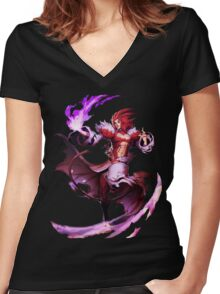 Final Fantasy IX - Trance Kuja Women's Fitted V-Neck T-Shirt