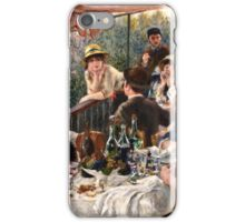 Renoir Auguste - Luncheon of the Boating Party (1880 1881)  iPhone Case/Skin