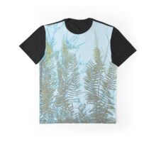 Faded Branch print Graphic T-Shirt