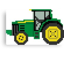 Tractor - The Kids' Picture Show - 8-Bit Canvas Print