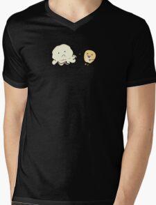 Burned Mens V-Neck T-Shirt
