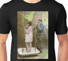 A WWI Soldier reacts to a lady in the shower Unisex T-Shirt