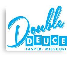 Double Deuce Canvas Print