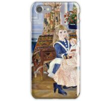 Renoir Auguste - Childrens Afternoon at Wargemont (1884)  iPhone Case/Skin