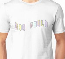 Pastel Collection: Sao Paulo Unisex T-Shirt