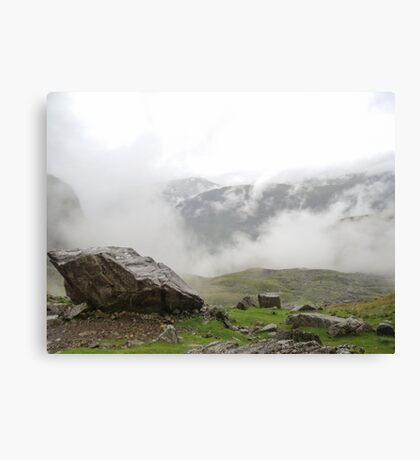 Sca Fell Clouds Canvas Print