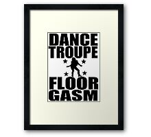 Floor-Gasm Framed Print