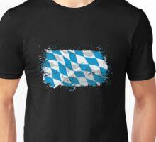 Bayern Flagge Unisex T-Shirt
