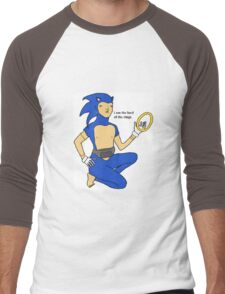Sonic The Lord Of The Rings Men's Baseball ¾ T-Shirt