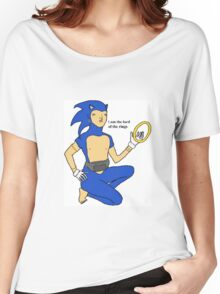 Sonic The Lord Of The Rings Women's Relaxed Fit T-Shirt