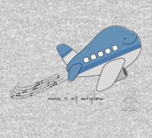 Music is my aero-plane One Piece - Long Sleeve