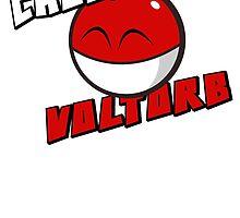Cheeky Voltorb! by Jimzydoodah