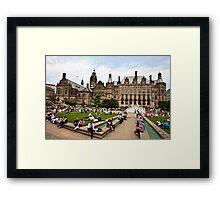 Sheffield Peace Gardens Framed Print