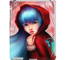 Red Riding Hood - Skater Girl in Forest iPad Case/Skin